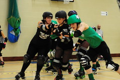 A Hereford blocker getting launched at the Notting jammer