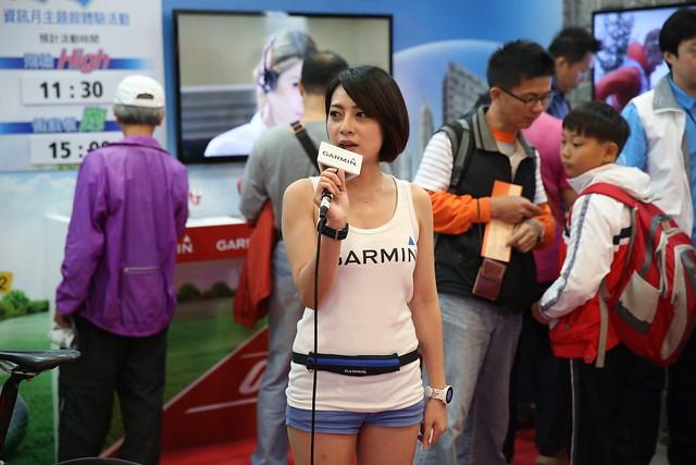 阿輝逛資訊展 – 看看有趣東西 (1) GARMIN 穿戴區, Ubike 體感, 乾電池手機 @3C 達人廖阿輝