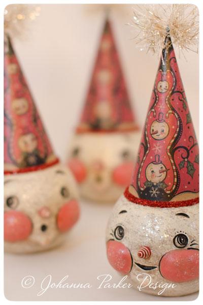 Original-Snowmen-with-Hats-by-Johanna-Parker