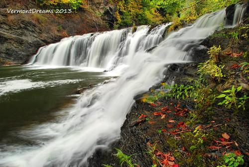 waterfall falls waterfalls buttermilkfalls rensselaercounty vermontdreams