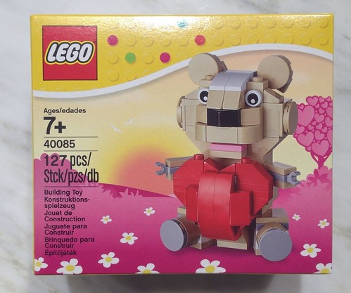 LEGO Seasonal Valentine's Day Teddy Bear (40085)