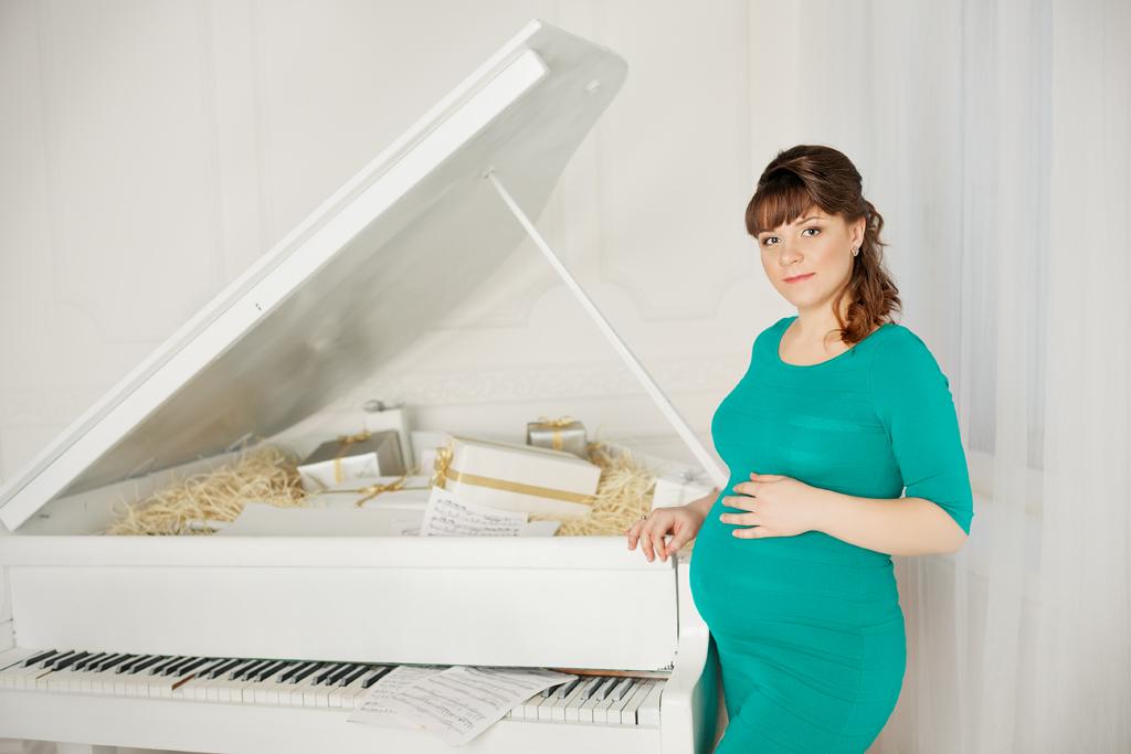 Фотосессия беременности Марии