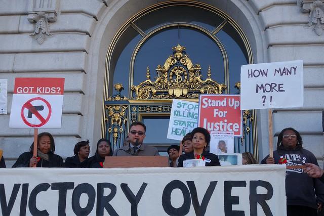 Newtown shooting anniversary at San Francisco City Hall