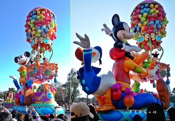 13 迪士尼聖誕村大遊行幸福在這裡夢之光大遊行