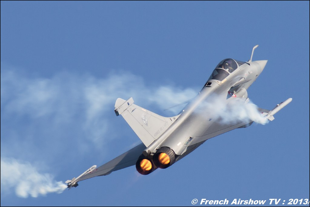 Rafale Solo Display au Free Flight World Masters Valence 2013, Meeting aerien 2013
