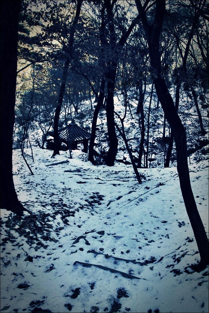 겨울 길-'부암동 석파정'