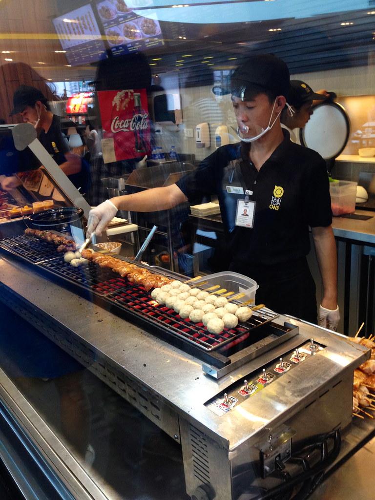 Food four sm aura yakitori one four seasons chinese for Aura global cuisine