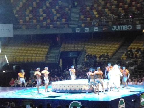 Acróbatas/Acrobats, Circo JUMBO, Movistar Arena, Parque O'Higgins, Santiago, Chile 2013 - www.meEncantaViajar.com by javierdoren