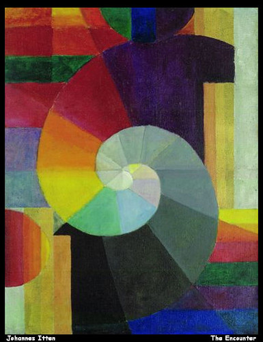 Johannes Itten The Encounter