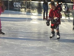 stick and ball games(0.0), ice hockey(0.0), hockey(0.0), skating(1.0), winter sport(1.0), footwear(1.0), winter(1.0), sports(1.0), ice skating(1.0), ice rink(1.0), athlete(1.0),