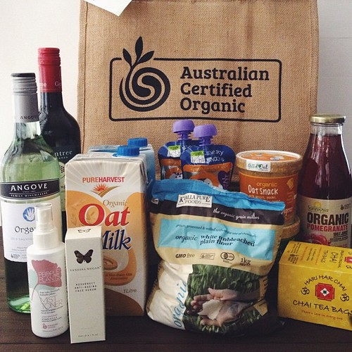 A few of my already preferred brands and a few new ones... #gifted from #AustralianCertifiedOrganic campaign - interesting to know what the certification means but remember to read labels and use common sense - organic cookies are still cookies