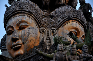 Sanctuary of Truth - Mahabhutas