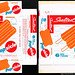 Sealtest - Popsicle Orange - frozen treart package box - Marathon printer sample - 1962 by JasonLiebig