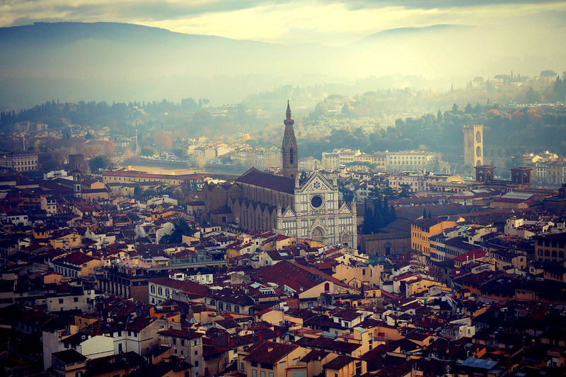 Florence: View from the Duomo