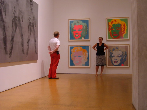 USA, Pittsburg, Andy Warhol Museum