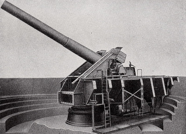 """Big Bertha, 15 inch SK L/45, Krupp Cannon"" 