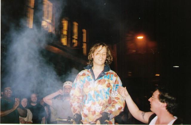 Reverend Hank @ Bronwyn Keenan Gallery, Summer 1998