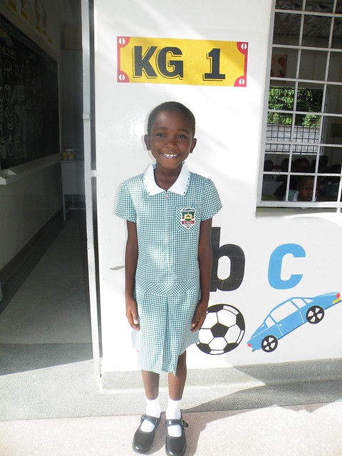 Naomi starts school