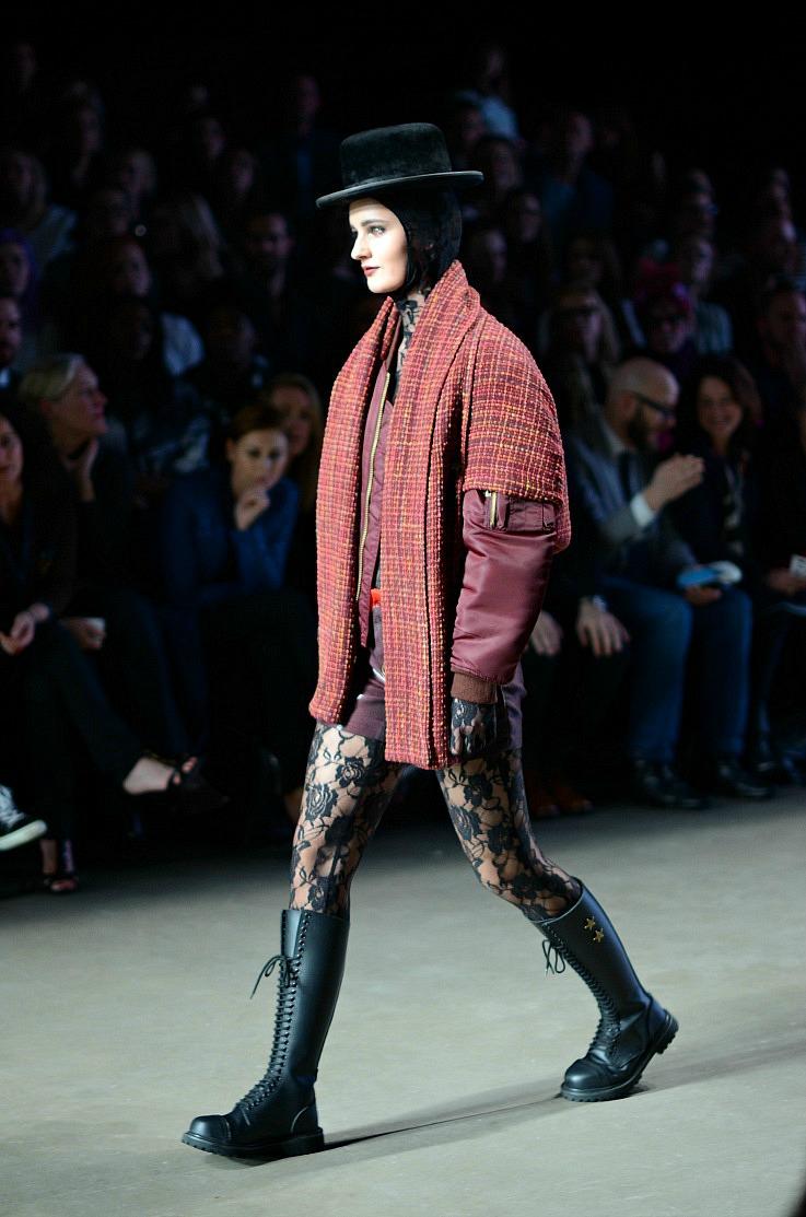 Aziz Bekkaoui Fashion week 2014,Mercedes benz Fashion week amsterdam 2014