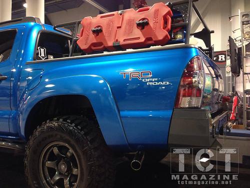 Toytec Tacoma with custom Toytec bumpers | TCT Magazine January 2014