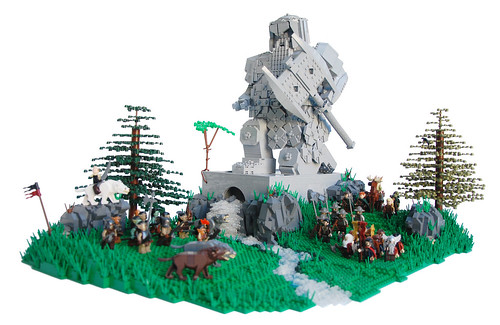 Battle for Erebor by Legopard