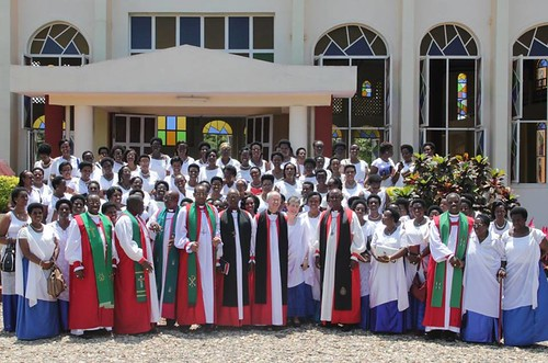 The Welbys and Burundi Anglicans