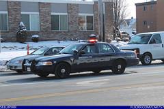 Brooklyn Ohio Police Ford Crown Victoria