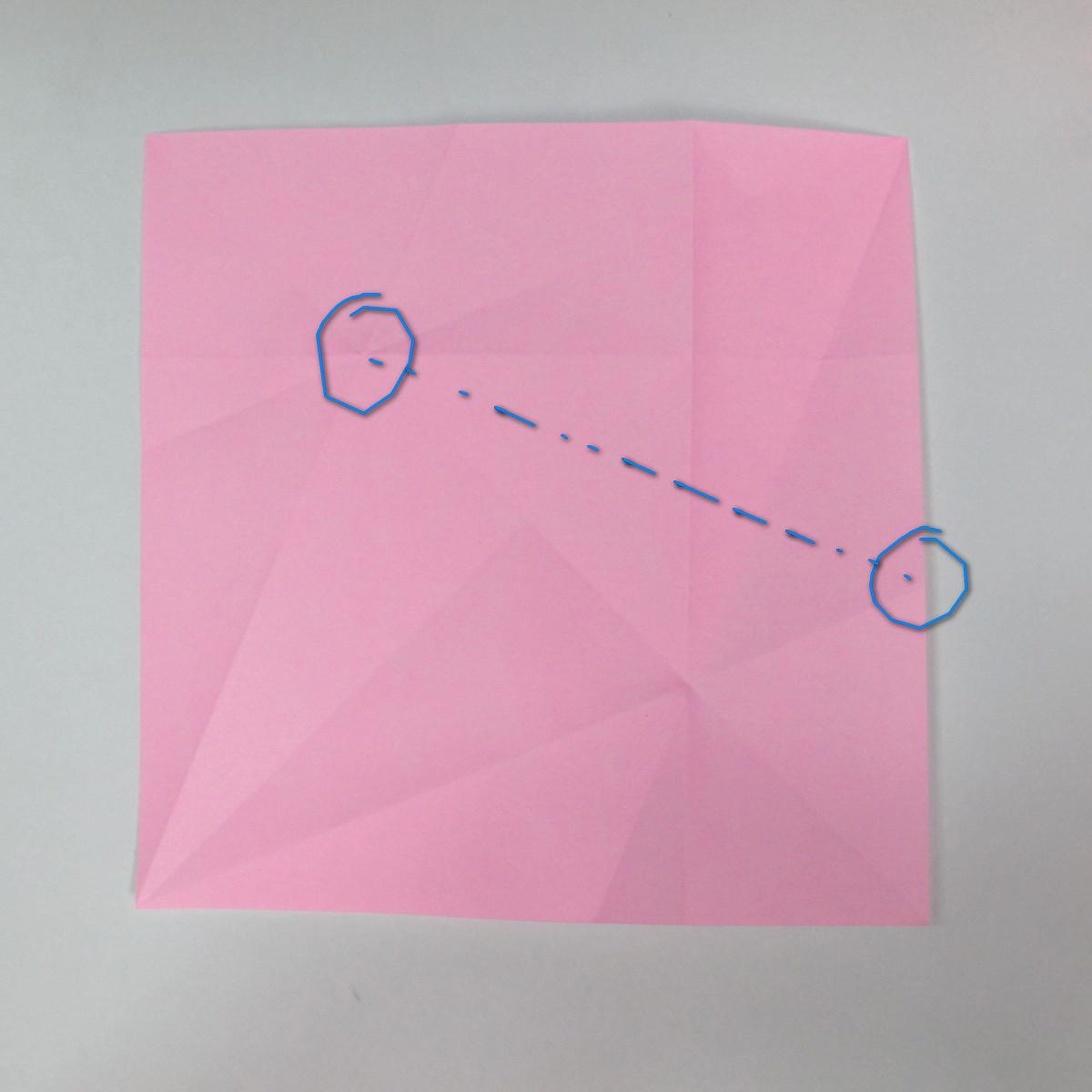 สอนการพับกระดาษเป็นลูกสุนัขชเนาเซอร์ (Origami Schnauzer Puppy) 012