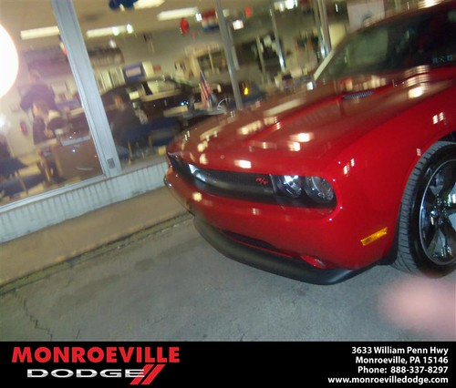 Happy Anniversary to Joseph Mark Verrico on your 2013 #Dodge #Challenger from Thomas Haskins  and everyone at Monroeville Dodge! #Anniversary by Monroeville Dodge
