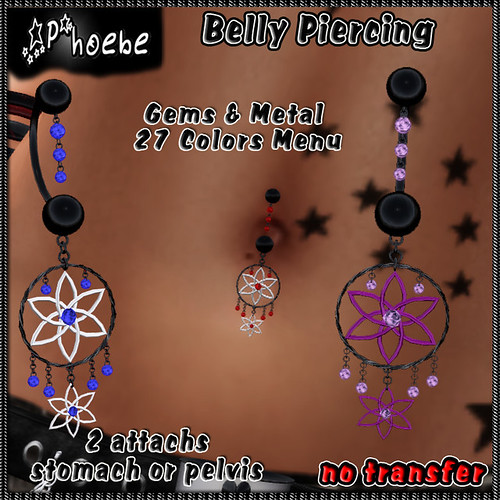 [OFFER!] *P* Dreams Belly Piercing