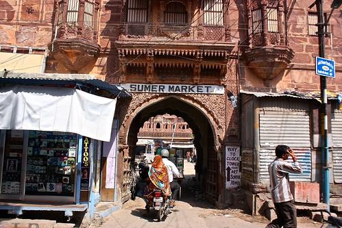 Jodhpur non-blue architecture