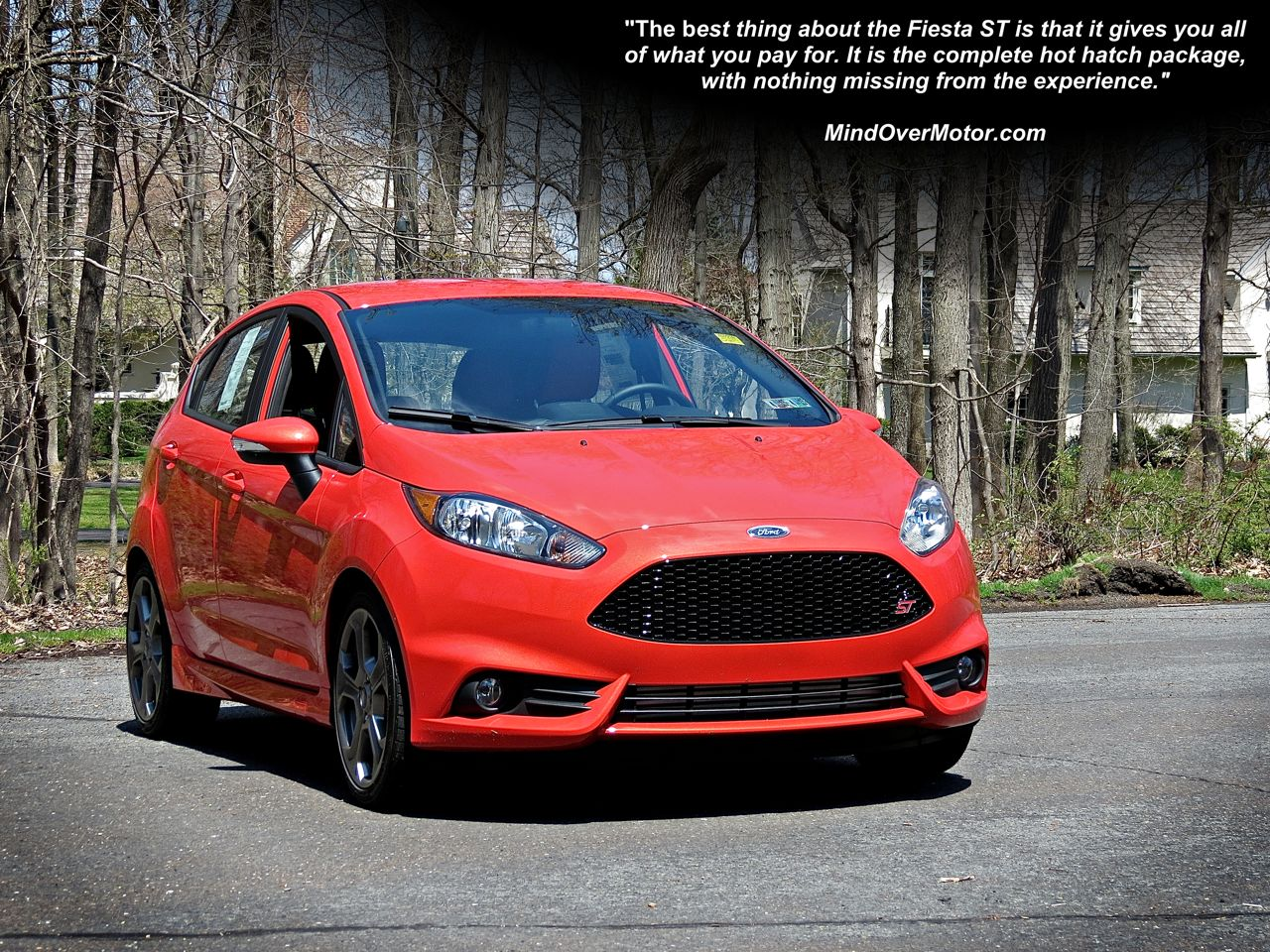 Ford Fiesta ST Reviewed by Mind Over Motor