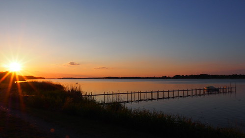 sunset evening solnedgang aften nykøbingf guldborgsund lollandfalster