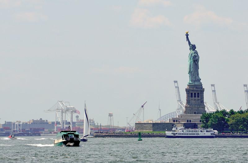 Statue de la Liberté Battery Park
