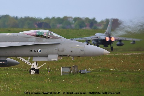 FinnAF F-18 Hornet HN-429