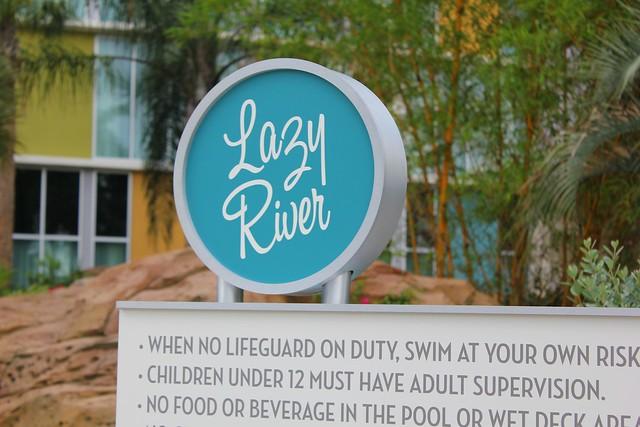 Cabana Bay Beach Resort lazy river at Universal Orlando