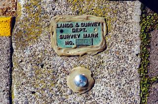 Survey Mark BMCF46