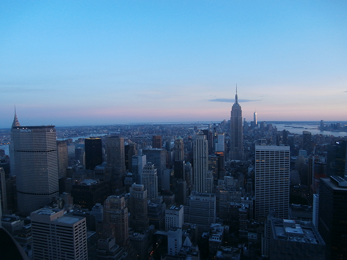 NYC Top of the rock1