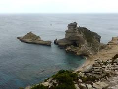 Capu Pertusatu et île Saint-Antoine depuis la falaise