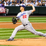 Clayton Kershaw delivers