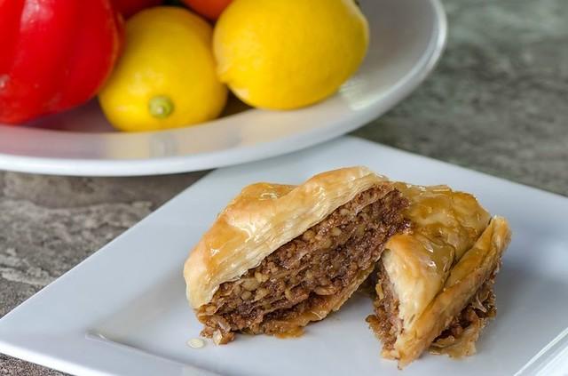 comida grega nos EUA