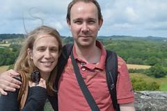 Matt and Heather in Chalus