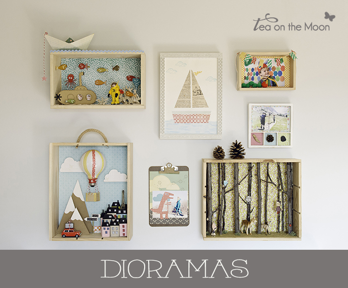 Diorama - Tea on the moon