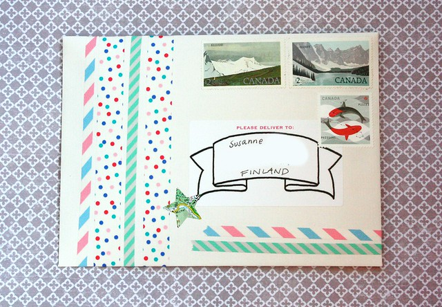Dots and stripes Outgoing mail, brinnertime.com