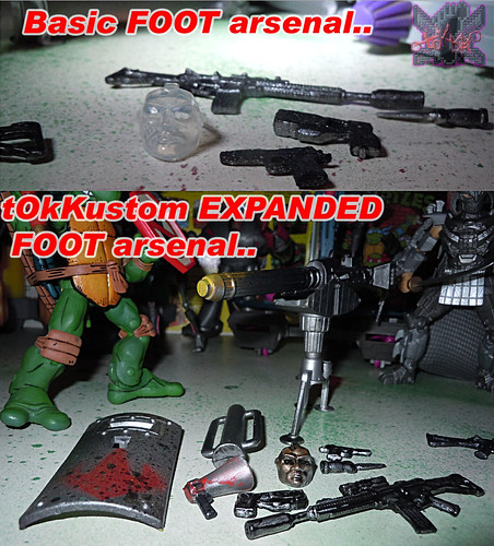 """NINJA TURTLES"" Movie :: FOOT SOLDIER  { tOKKustom PARAMILITARY wash } iv // ..arsenals  (( 2014 ))"