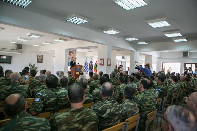 Ομιλία ΥΕΘΑ Δημήτρη Αβραμόπουλου στην 95 ΑΔΤΕ (Καστελόριζο, Ρόδος) - 7/2014