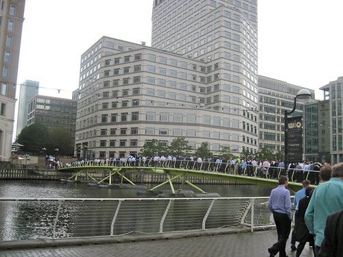 Tour de France in Canary Wharf