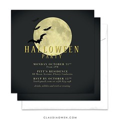 It's still not too late to send your digital Halloween invitations! #halloween #halloweenparty #party #invitation #partysupplies