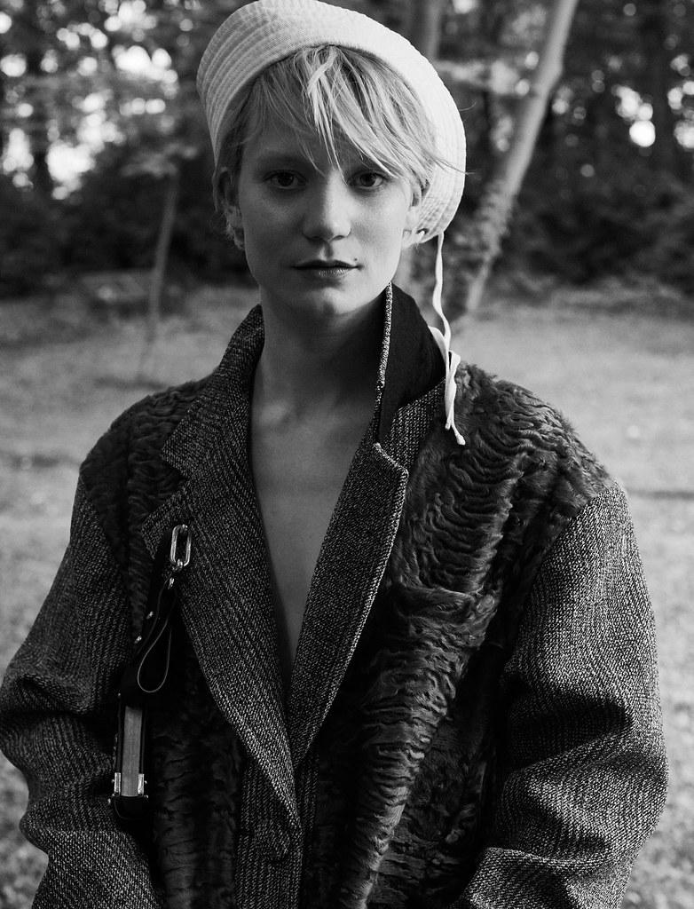 Миа Васиковска — Фотосессия для «L'Express Styles» 2016 – 3