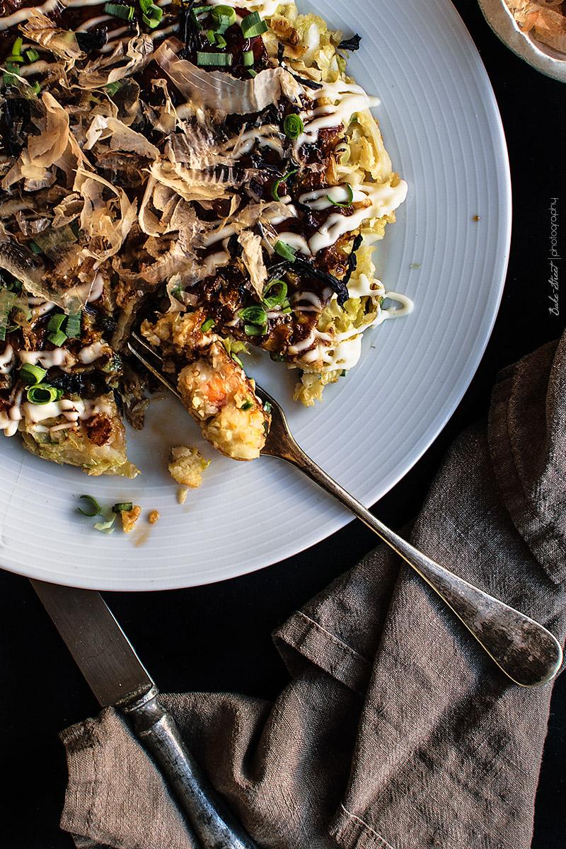 Okonomiyaki - Tortita japonesa